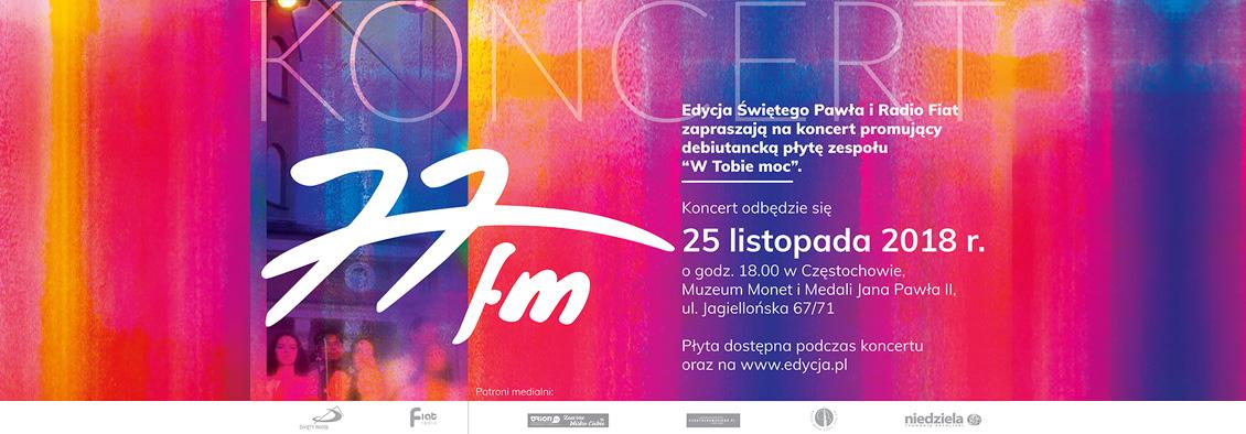 Koncert 77FM koncert
